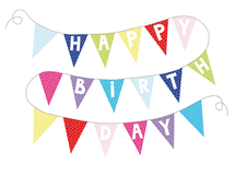 Vimpel happy birthday, Jabadabado