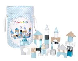 Byggklossar blå, Jabadabado