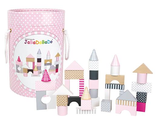 Byggklossar rosa, Jabadabado