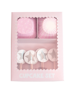 Cupcakeset ljusrosa, Jabadabado