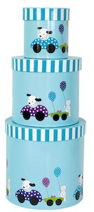 Förvaringsask dalmatiner 3-pack, Jabadabado