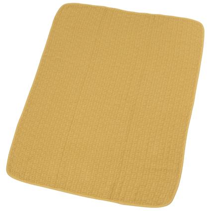 Våffelfilt EKO 75 x 100 gul, Rätt start