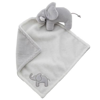 Snuttefilt elefant grå, Rätt start