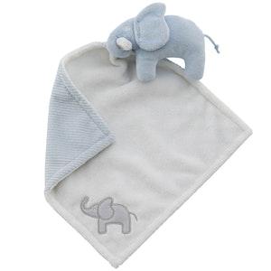Snuttefilt elefant blå, Rätt start