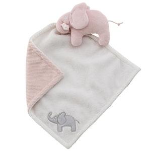Snuttefilt elefant rosa, Rätt start