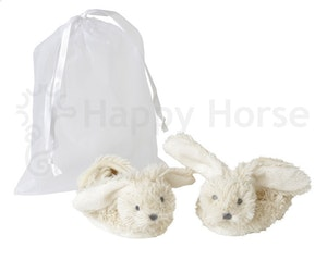 Rabbit Richie Tossor i organza påse, vit, Happy Horse