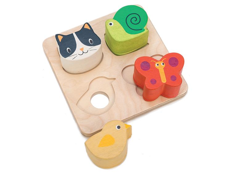 Känn & titta pussel, Tender Leaf Toys