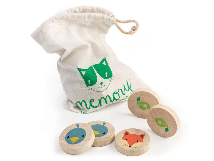 Spel memory 'Djur', Tender Leaf Toys