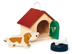 Dockhusdjur Hund, Tender Leaf Toys