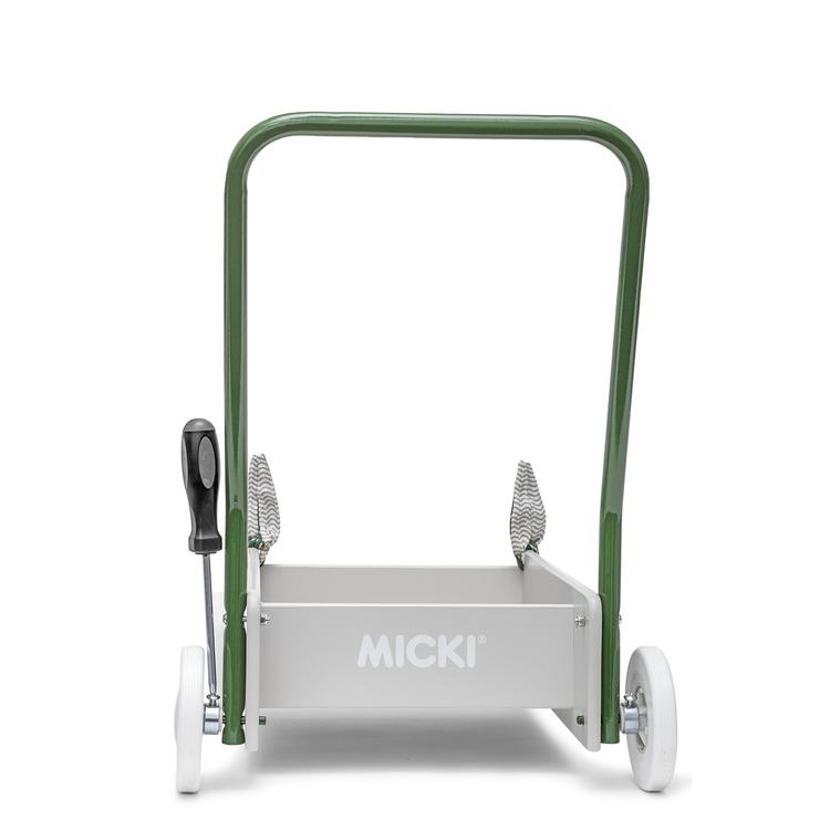 Lära gå vagn Senses, Micki