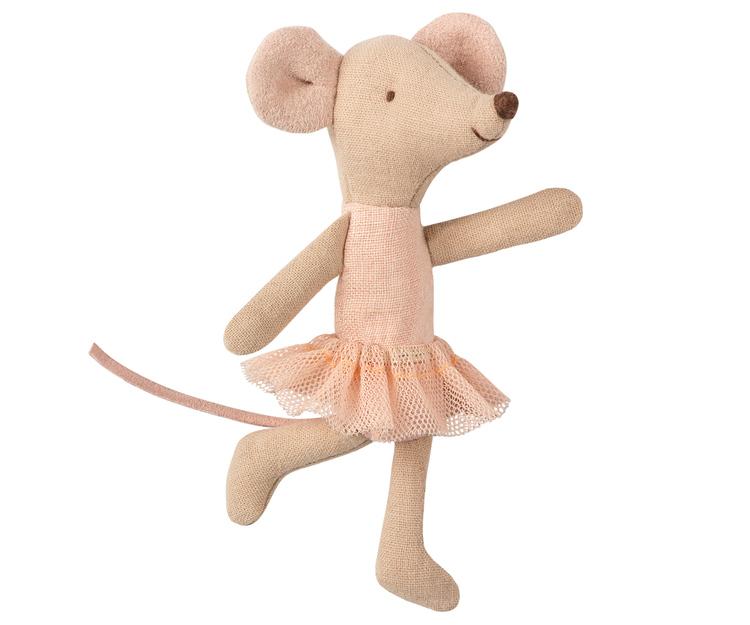 Lillasyster mus, ballerina, Maileg