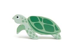 Sköldpadda i trä, Tender Leaf Toys