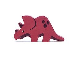 Triceratops i trä, Tender Leaf Toys