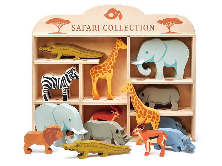 Flodhäst i trä, Tender Leaf Toys