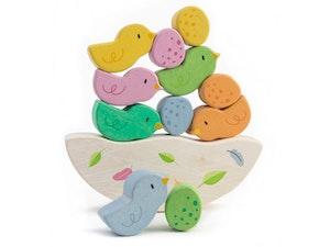 Balanslek fåglar, Tender Leaf Toys