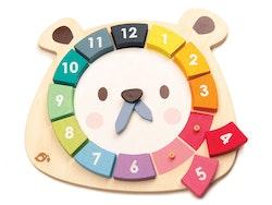 Lära klocka björn, Tender Leaf Toys