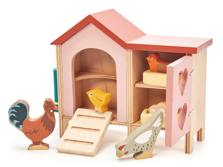 Dockhusdjur Höns Tender Leaf Toys