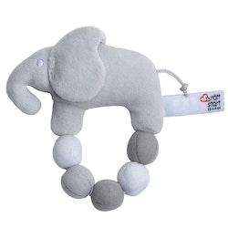 "Skallra ""Elephant Marbles"", grå"
