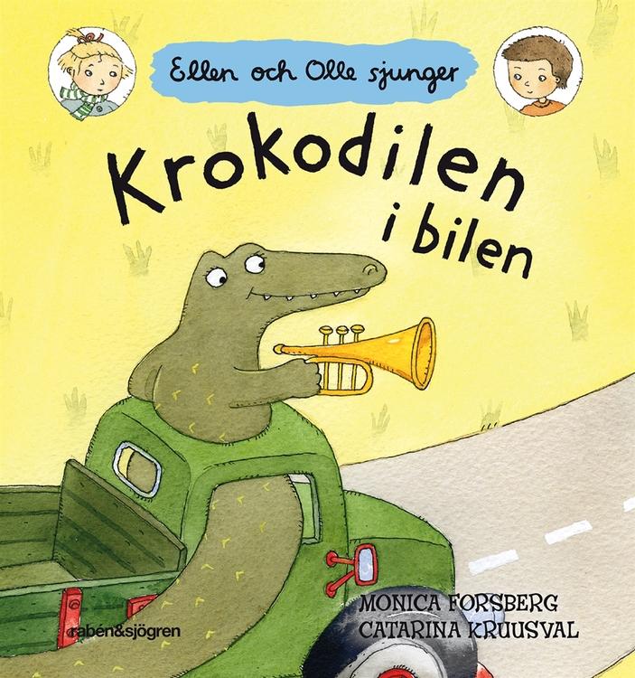 Krokodilen i bilen,  Ellen och Olle sjunger