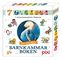 7 pixiböcker - Barnkammarboken