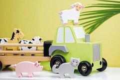 Traktor med djur, Jabadabado