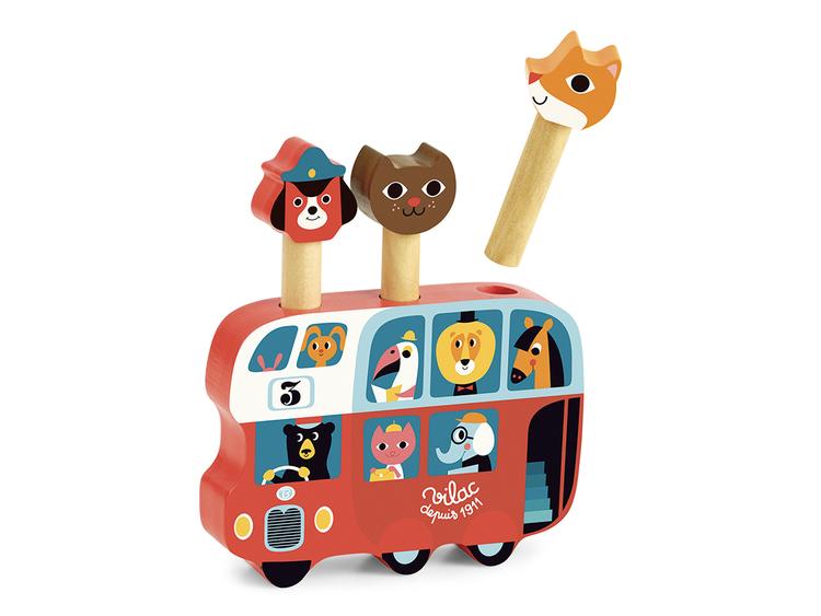 Popupp Buss, Ingela P. Arrhenius, Vilac