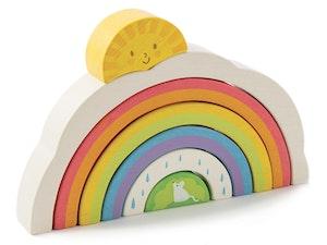 Stapelpussel regnbåge, Tender Leaf Toys