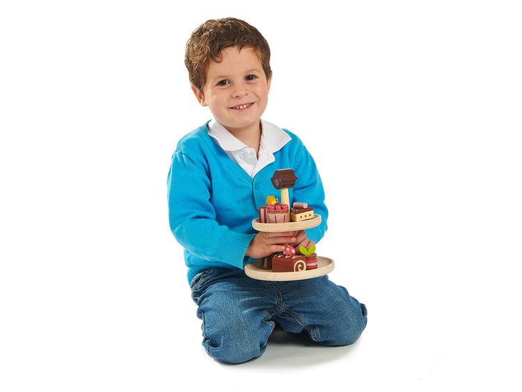 Kakfat med bakelser, Tender Leaf Toys