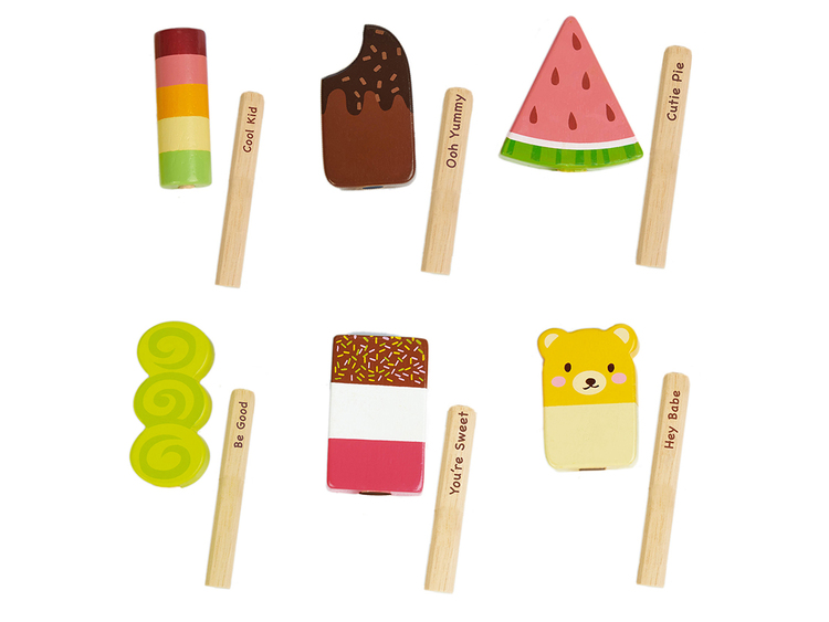 Glasspinnar, Tender Leaf Toys