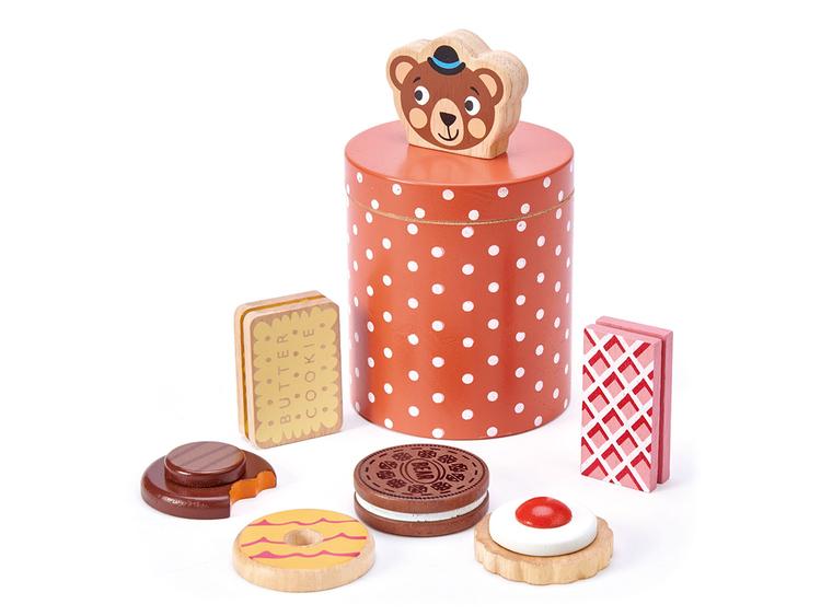 Kakburk med kakor, Tender Leaf Toys
