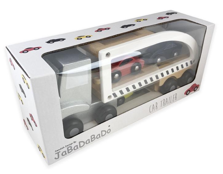 Trailer med sportbilar, Jabadabado
