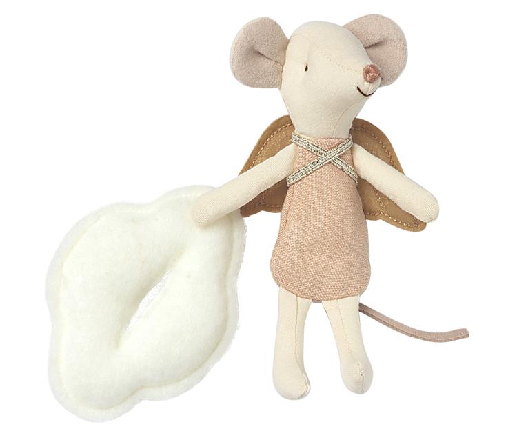 Storasyster mus, Skyddsängel i bok, Maileg