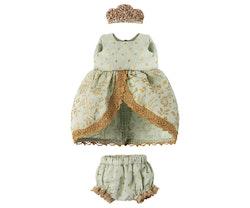 Prinsessklänning mint till storasyster mus, Maileg
