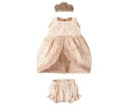 Prinsessklänning rose till storasyster mus, Maileg