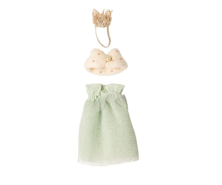 Drottningkläder till mamma mus, Maileg