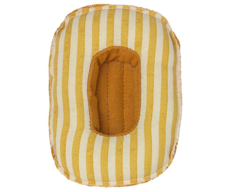 Gummibåt, gul, Maileg