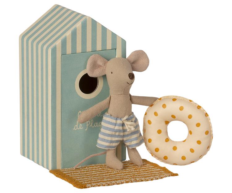 Lillebror mus i strandhytt, Maileg