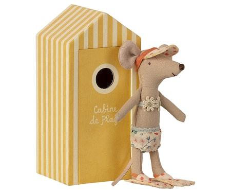 Storasyster mus i strandhytt, Maileg