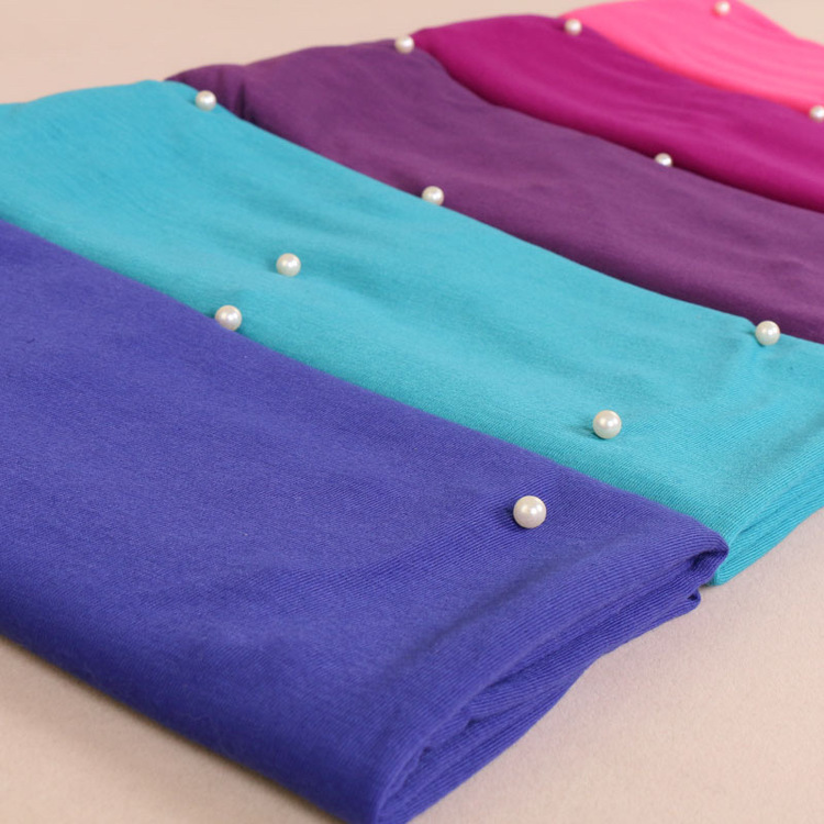 Jersey with pearls
