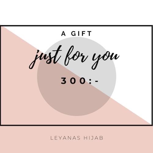 Presentkort 300:-