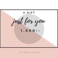 Presentkort 1.500:-
