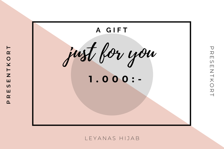 Presentkort 1.000:-