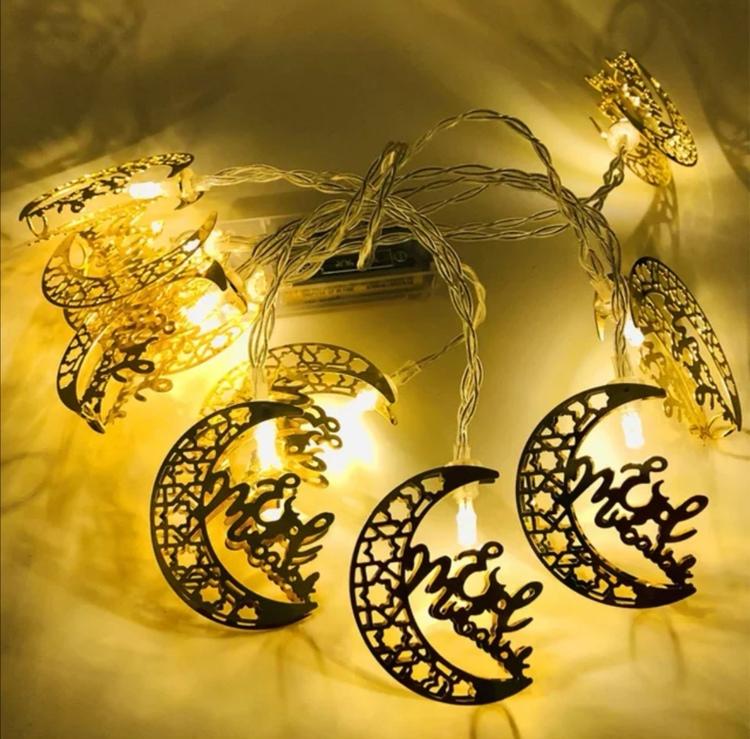 Eid Mubarak LED ljusslinga