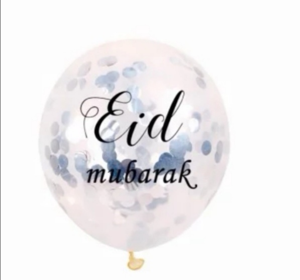 Eid Mubarak confetti ballong