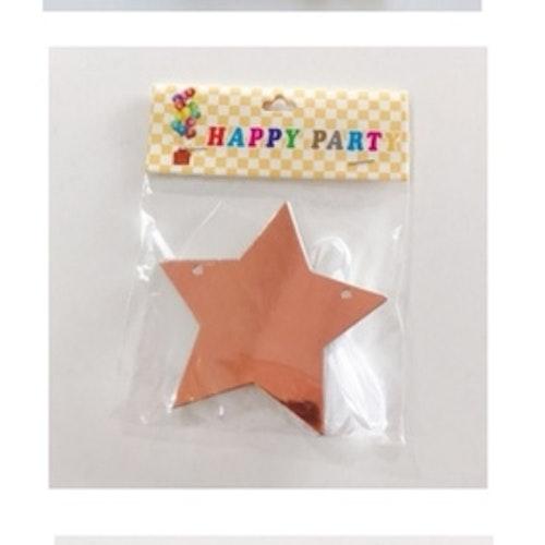 Stjärn foil banner