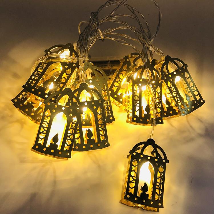 Lyckta LED light med låga