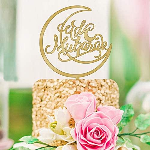 Eid Mubarak stor text acrylic toppers