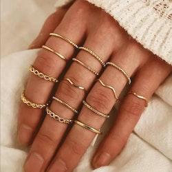 Ringar - 14 delar