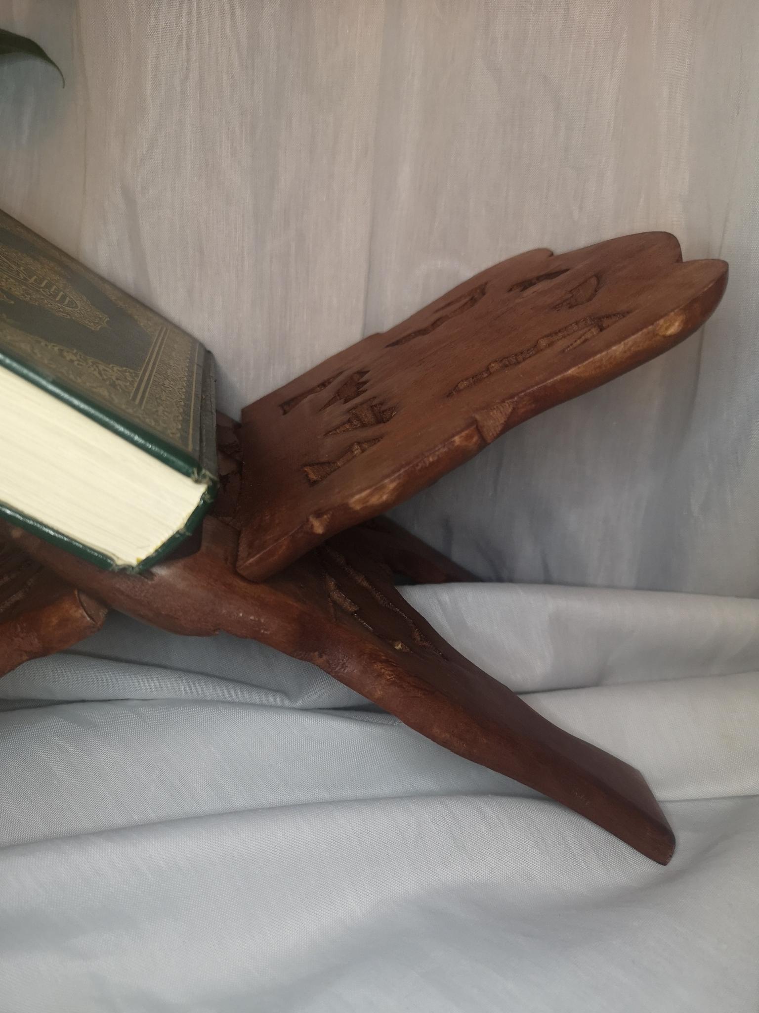Handgjord koranställ