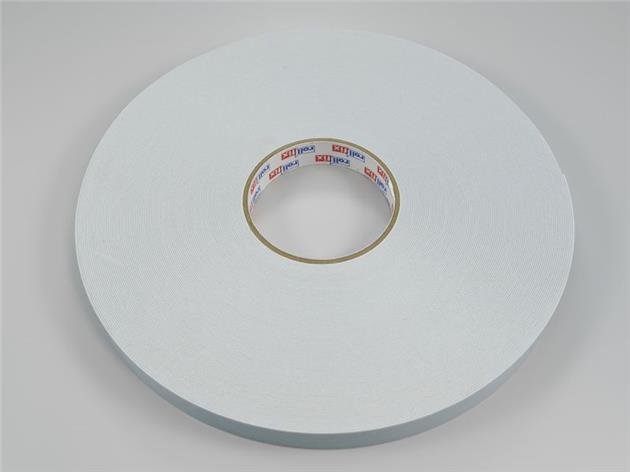 50 m / Dubbelhäftande 9 mm tejp (hel rulle)